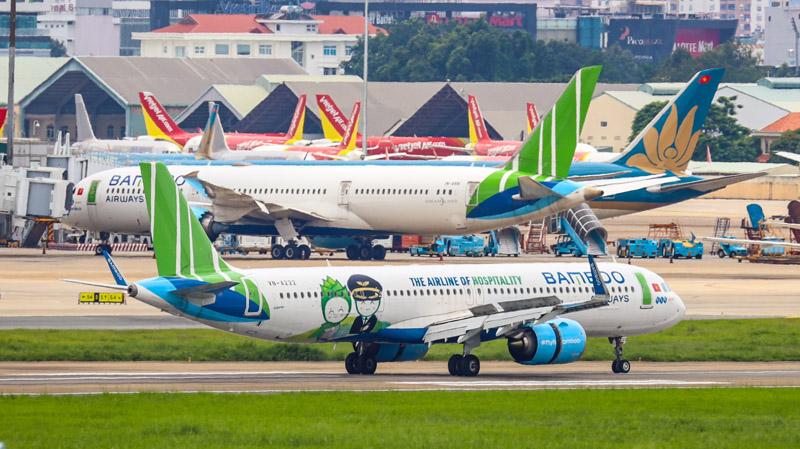 Bamboo Airways giữ vững ngôi vị bay đúng giờ nhất toàn ngành 8 tháng năm 2021