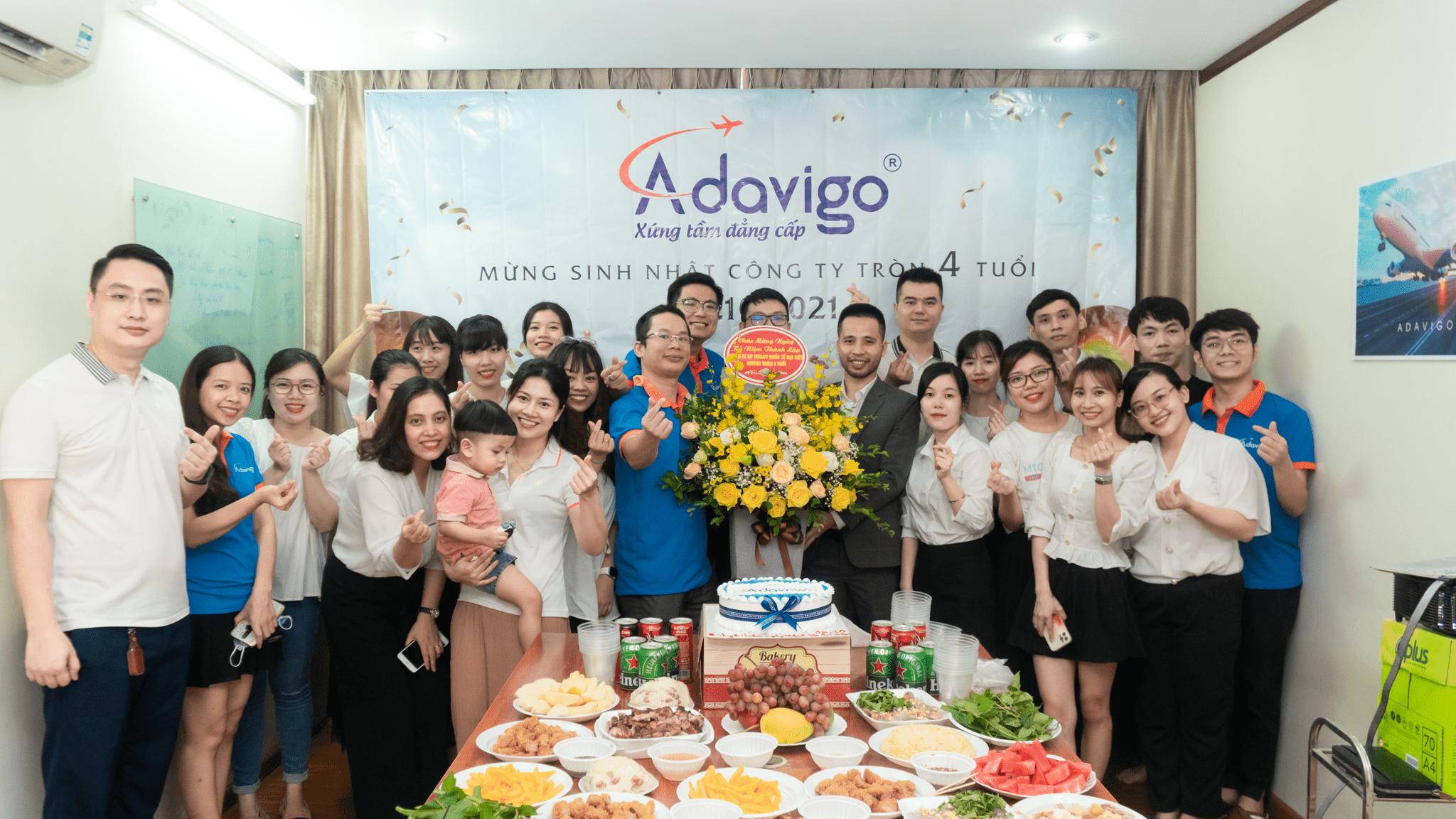 Chúc mừng sinh nhật Adavigo tròn 4 tuổi