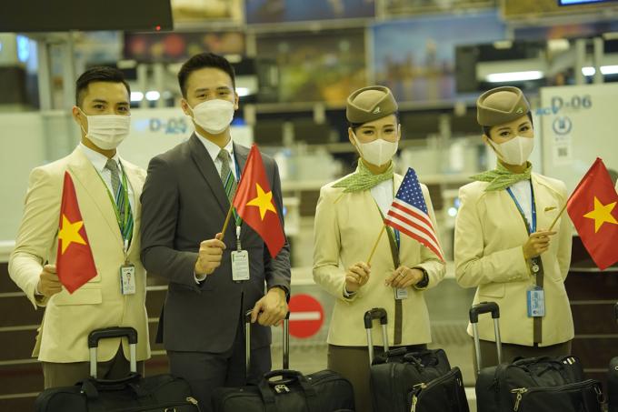 Bamboo Airways đã khởi hành chuyến bay thẳng đầu tiên từ Việt Nam - Mỹ